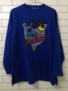 Vintage Mickey Mouse Crewneck Sweater