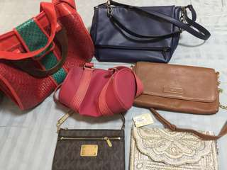 New Lot of Pre Loved Bags to Sell