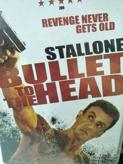 Bullet to the head Stallone movie DVD