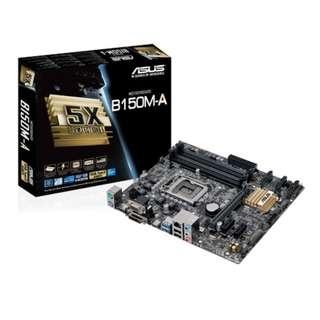 Asus B150M - A B150MA Micro ATX Matx Intel socket 1150 Skylake b150