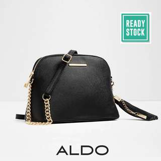 AUTHENTIC ALDO SHELL CROSS BODY BAG (BLACK) AL055
