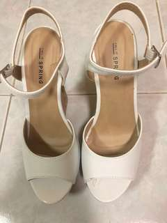 Call It Spring White Wedges