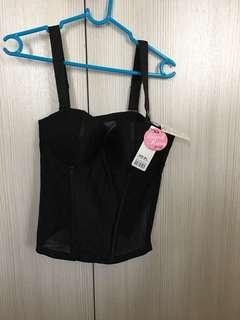Pierre Cardin Black Rara corset/lingerie