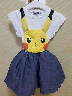 Pikachu Overall