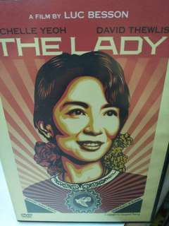 The lady movie DVD