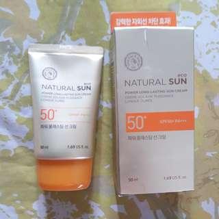 The Face Shop Natural EcoSun Sunscreen