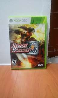 Dynasty Warriors 8 Xbox 360