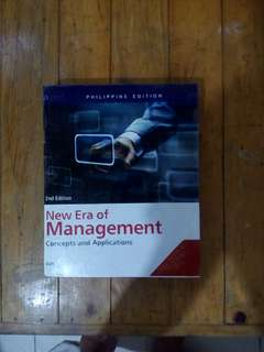 New Era of Management 2nd Edition