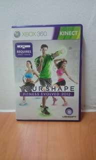 Your Shape Fitness Evolved Kinect Xbox 360