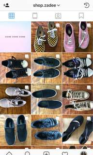 Shoes and bags for less