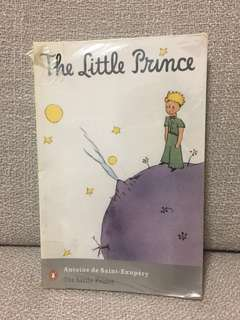 The Little Prince Book by Antoine de Saint-Exupery (Lit text)