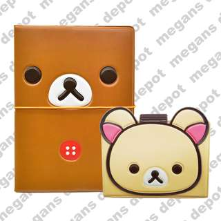 Rilakkuma 3D Passport Cover and Card Holder