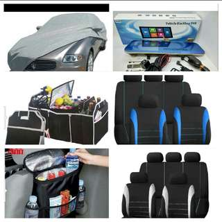 car accessories.universal car seat cover.dashcam car organizer.car bed