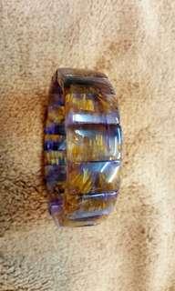 🚚 頂級黃金紫鈦排 19mm寬板手排