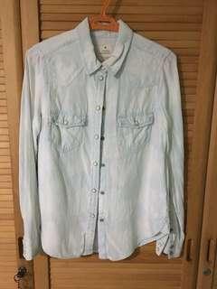 American eagle vintage denim shirt