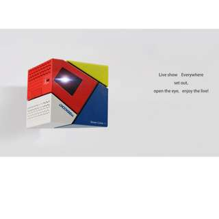 🚚 Smart Cube P1 Mini Projector.