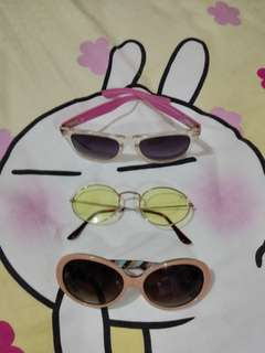 Shades 3 for 100 only!!!
