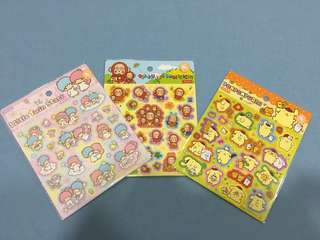 Sanrio sticker Set