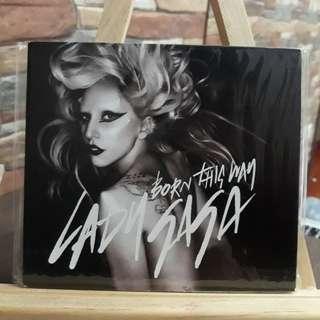 BORN THIS WAY by Lady Gaga Single CD