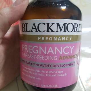 🚚 Brand new blackmores pregnancy and breastfeeding advanced