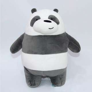 We Bare Bears Stuffed Toy (Panda)