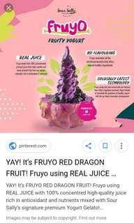 Voucher Sour Sally Dragon Fruit Central Park