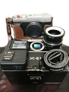 Fujifilm X-E1 + Accessories