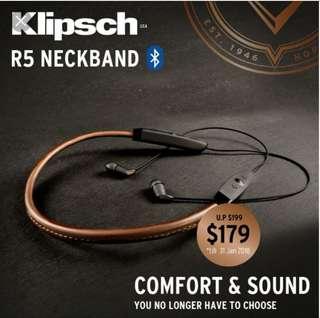 Klipsch R5 neckband