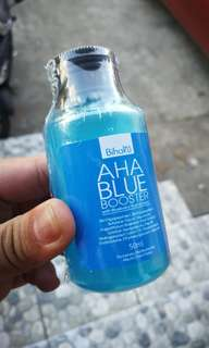 Aha blue whitening booster!