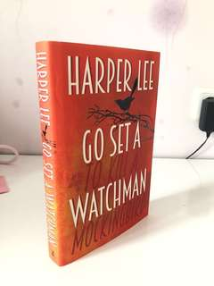 Go Set A Watchman Harper Lee hardcover