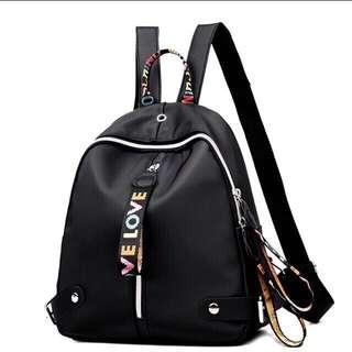 Kpop Black Backpack 💯