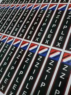 Zziplex Stickers