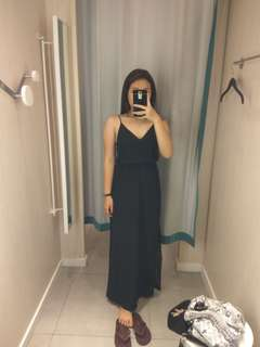 H&M Long black dress