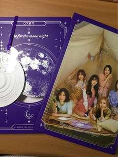 🚚 GFRIEND MINI 6TH Album NIGHT版空專有書籤跟杯墊欸