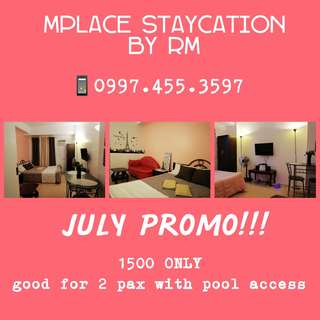 Staycation July Promo