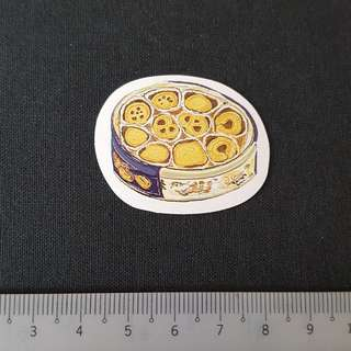 C11 Butter Cookies Watercolour Sticker Stickers