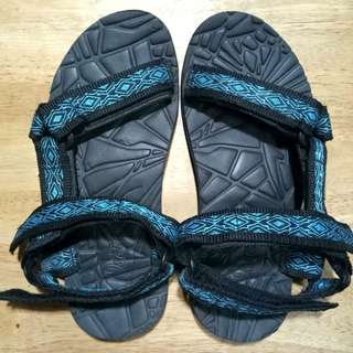 Blue Tribal Islander Trekking Sandals