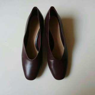 Charles & keith block heels