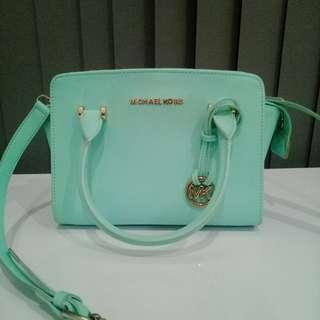 Marc Jacobs Blue-Mint Green Bag