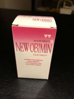 Obimin Multivitamin Supplement