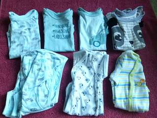Hush hush baby clothes 3mos with frogsuit freebie