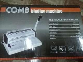 Brand New Binding Machine