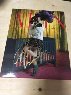 黄丽玲 A-Lin 亲笔签名 罪恶感 CD