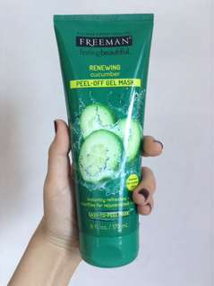 Freeman Renewing Cucumber Peel Off Gel Mask