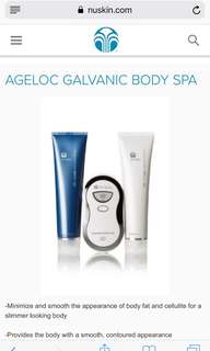 Nu skin galvanic spa body