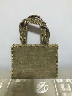 Native Mini Bag - Woven - Olive
