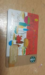 🚚 Starbucks Gift Card 2014 limited edition