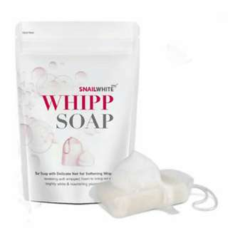 Snail White Whip Soap Whitening Original Thailand