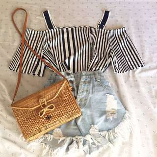 Korean stipes top