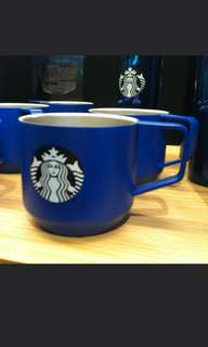 🚚 Starbucks blue stainless steel cup